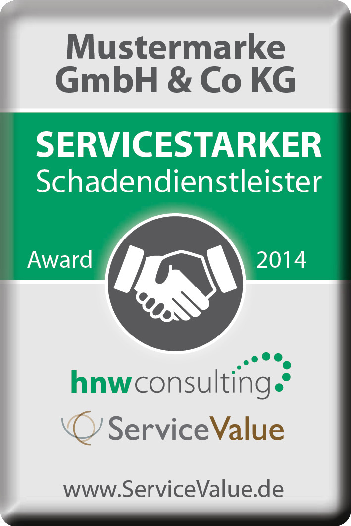 mustermarke service value